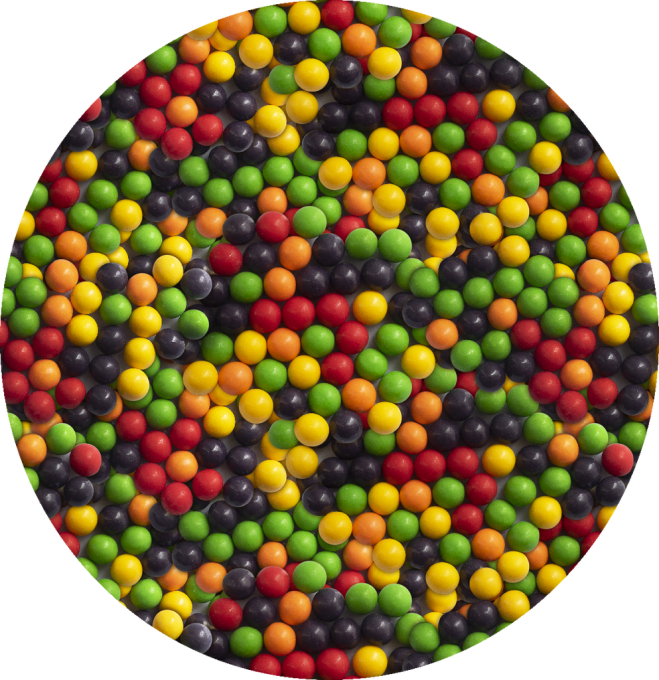 Wonka Everlasting Gobstoppers Candy Photo Pattern by Patterns Soup
