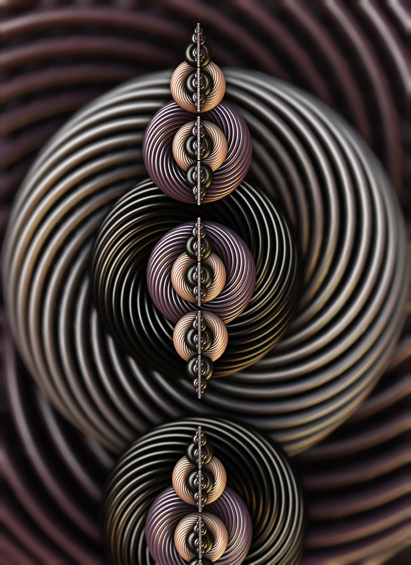 Torsion Twist. Abstract Art By Stephen Geisel, luv-fi.com