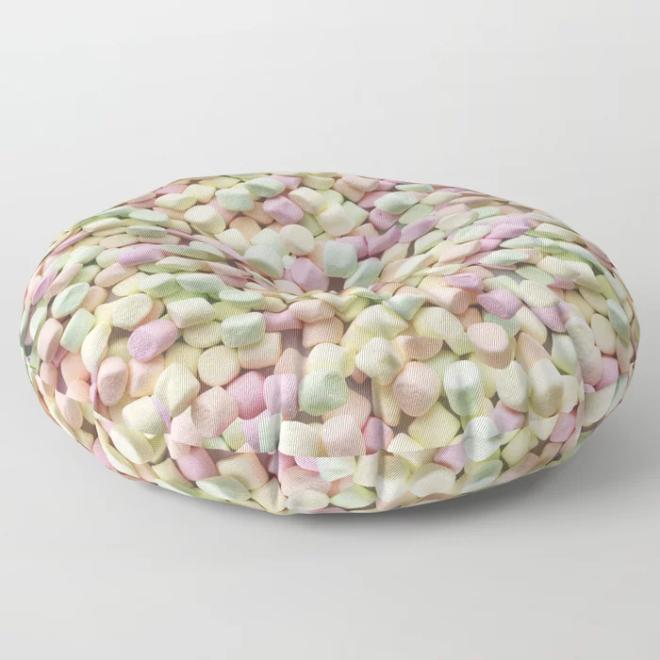 Yummy Mini Marshmallow Photo Pillow Pattern by Patterns Soup