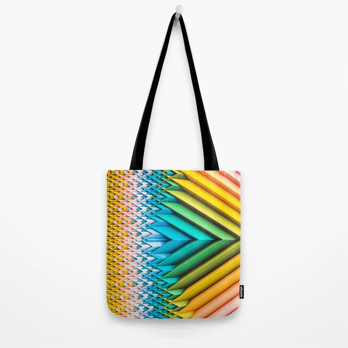 Sun Shards IV Tote Bag On Society6