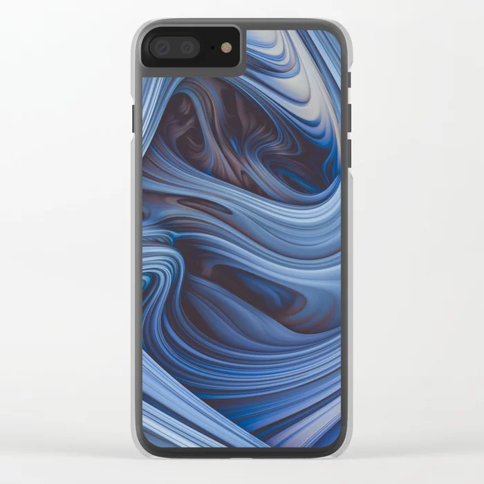 Arctic Taffy. Abstract Art Phone Case  by lovefi On Society6