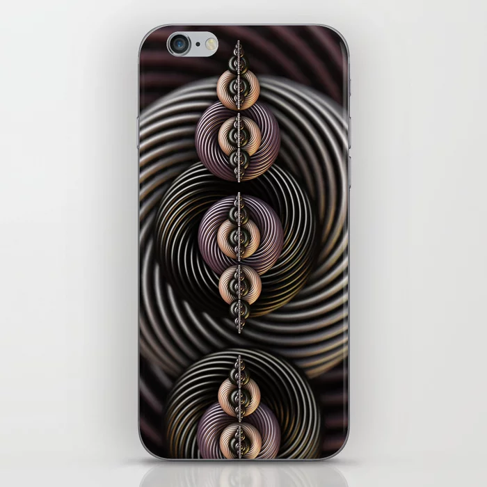 Torsion Twist. Abstract Art iPhone Skin by lovefi