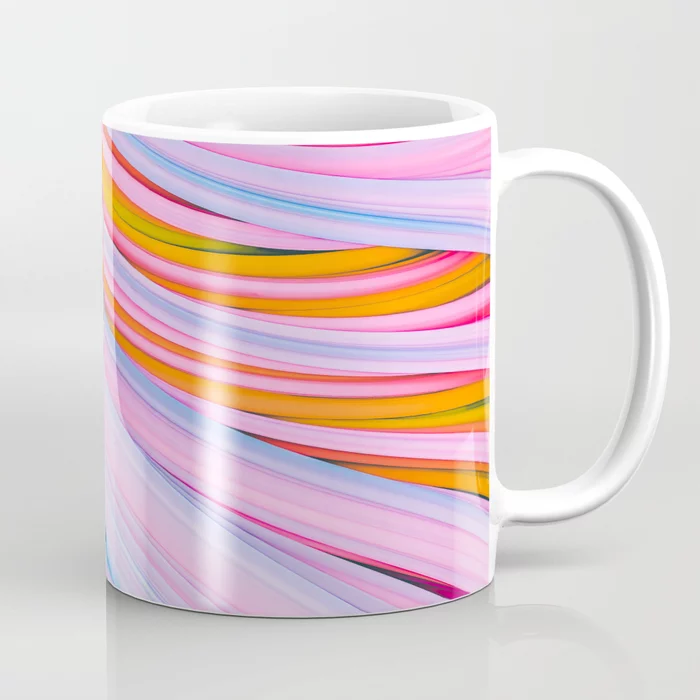 Strain Wave. Abstract Coffee Mug by lovefi
