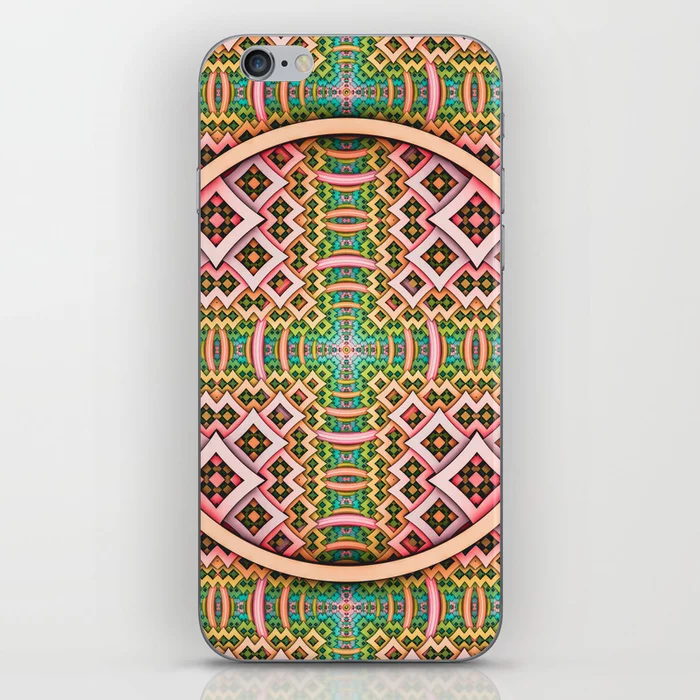 pOp. Abstract Pattern Design iPhone Skin by lovefi