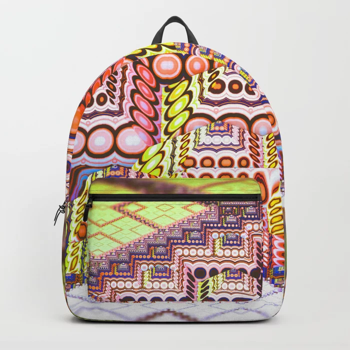 infrastructure II. Abstract Design Backpack by lovefi