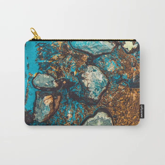Shallow Water. Nature Photo Carry-All Pouch by lovefi