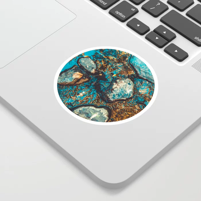 Shallow Water. Nature Photo Sticker by lovefi