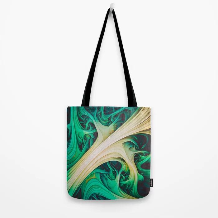 Tundara II. Abstract Melt Tote Bag by lovefi
