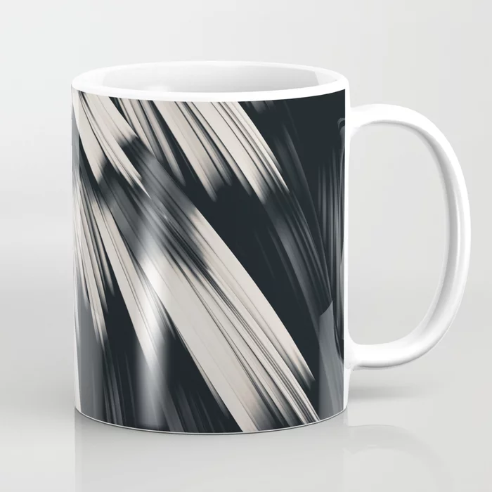Zebra Strain. Abstract Zebra Stripes Coffee Mug by lovefi