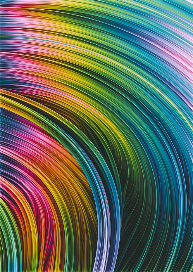 Stranded Strain III.  Colorful Abstract Art by love-fi, stephen geisel