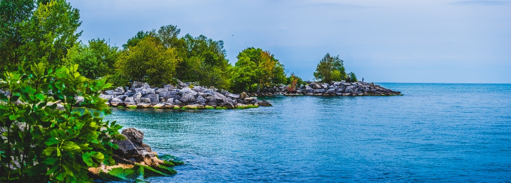 Scarborough Bluffs Panoramic III. By Stephen Geisel, Love-fi