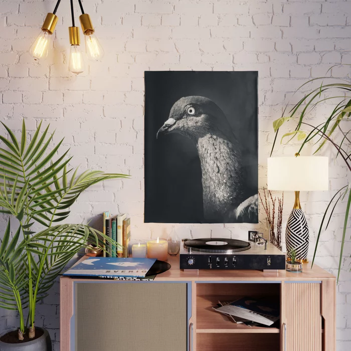Pigeon Portrait Photograph. Poster by lovefi