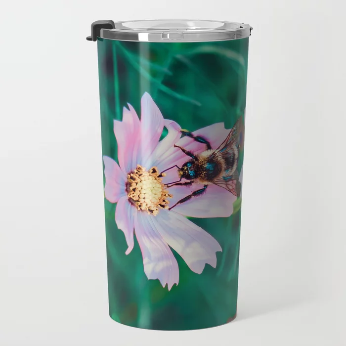A Peaceful Place. Photograph Travel Mug by lovefi