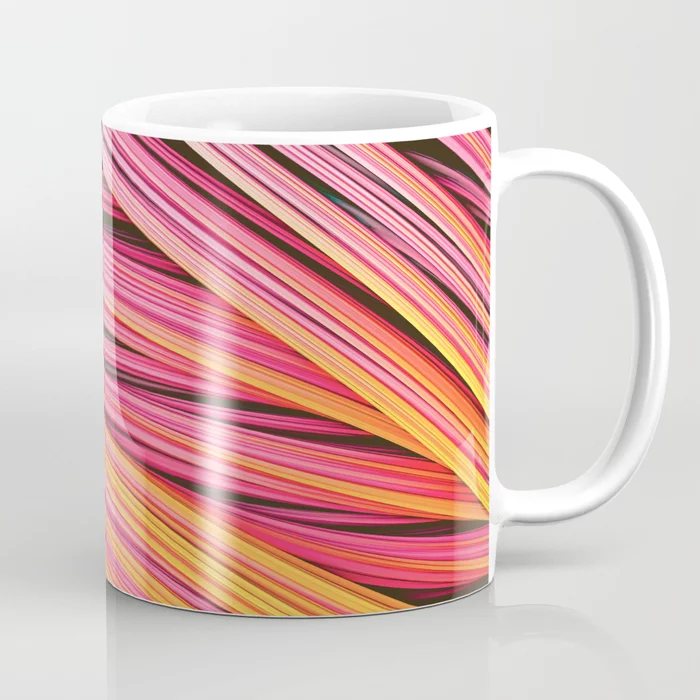 Pink & Heat Strands. Coffee Mug On Society6 by lovefi