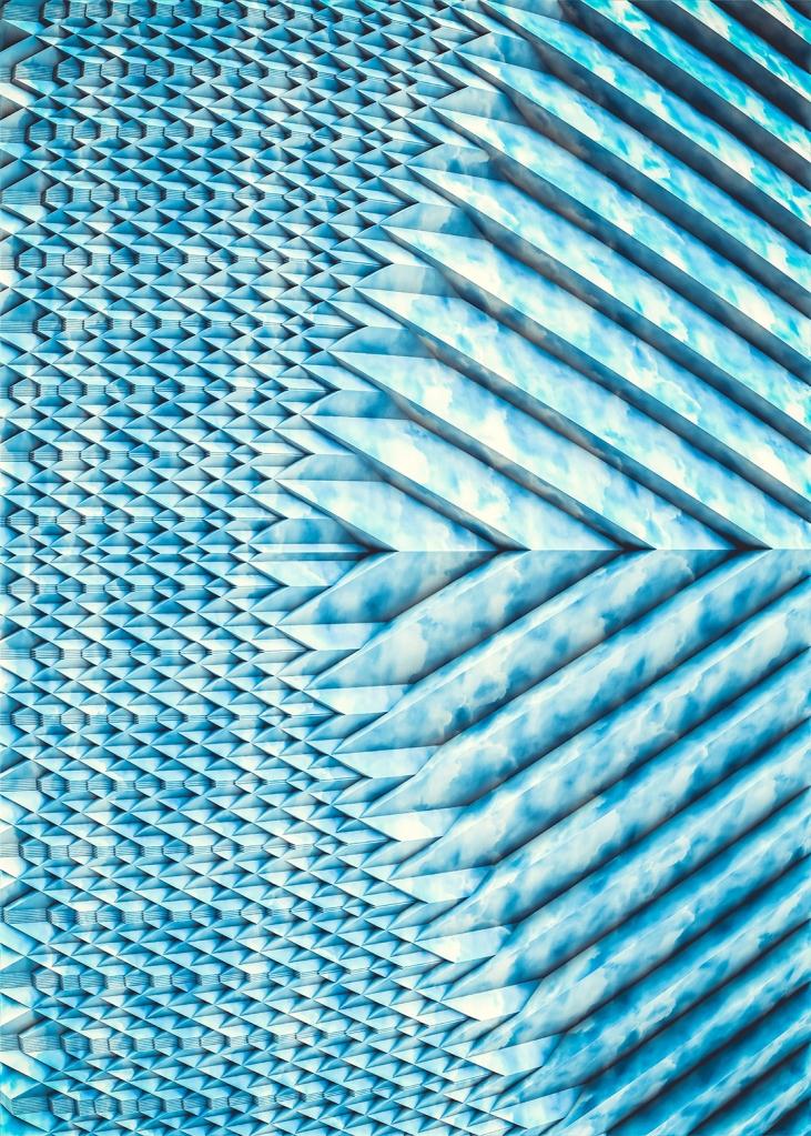 Blue Marble Sun Shards. By Stephen Geisel, Love-fi