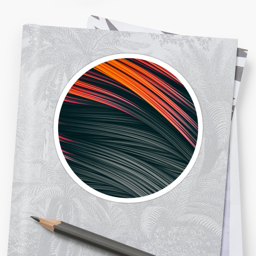 Ember Strands. Stickers On Redbubble by lovefi