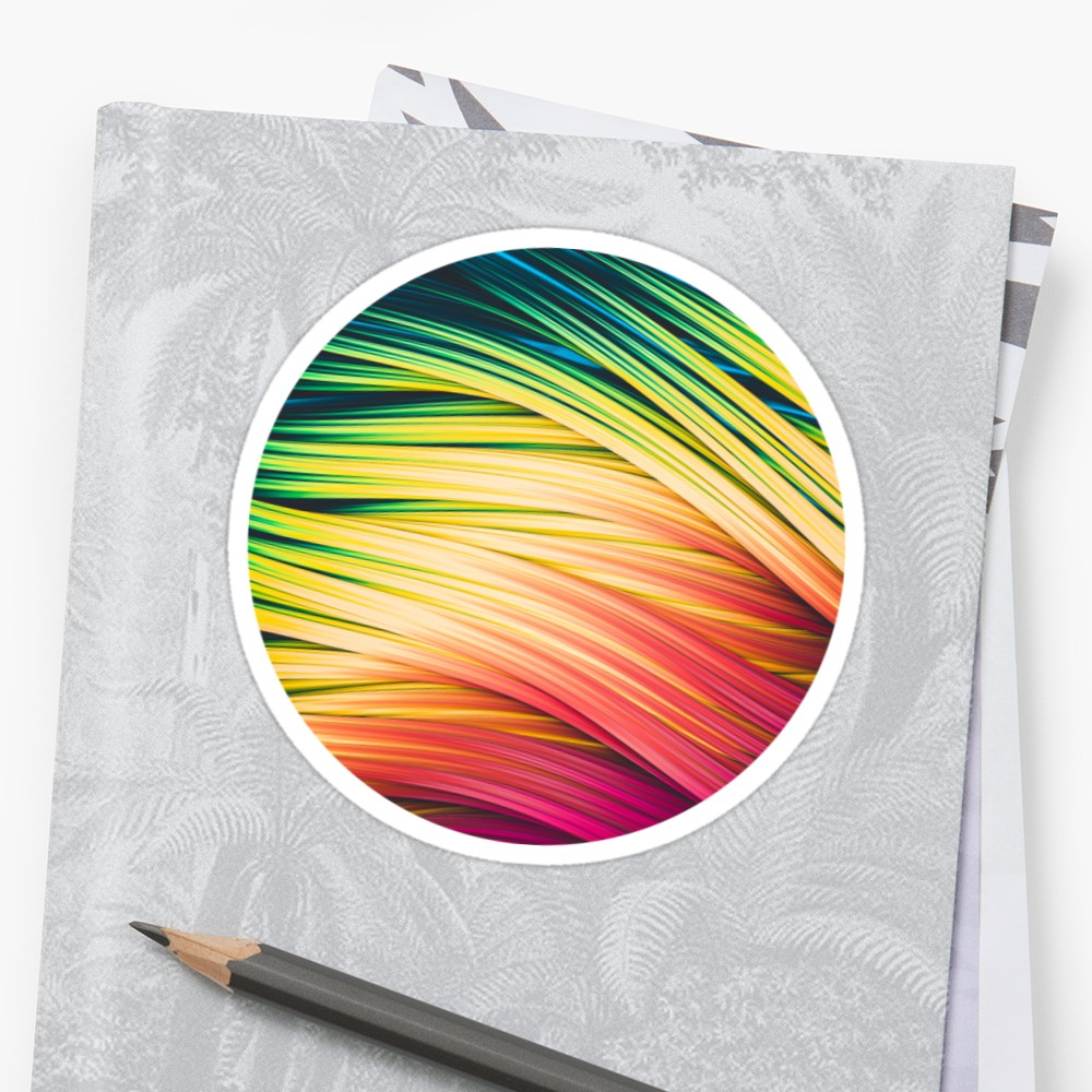 Rain & Fire Strands  Stickers on Redbubble by lovefi