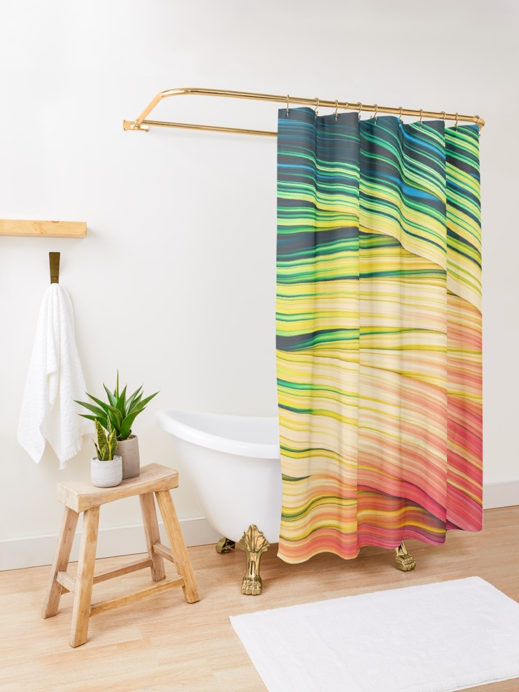 Rain & Fire Strands  Shower Curtain on Redbubble by lovefi