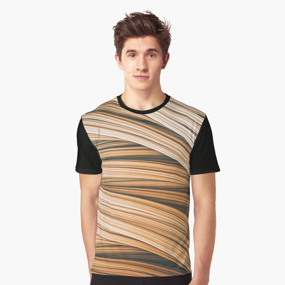 Beige Strands. T-Shirt on Redbubble by lovefi