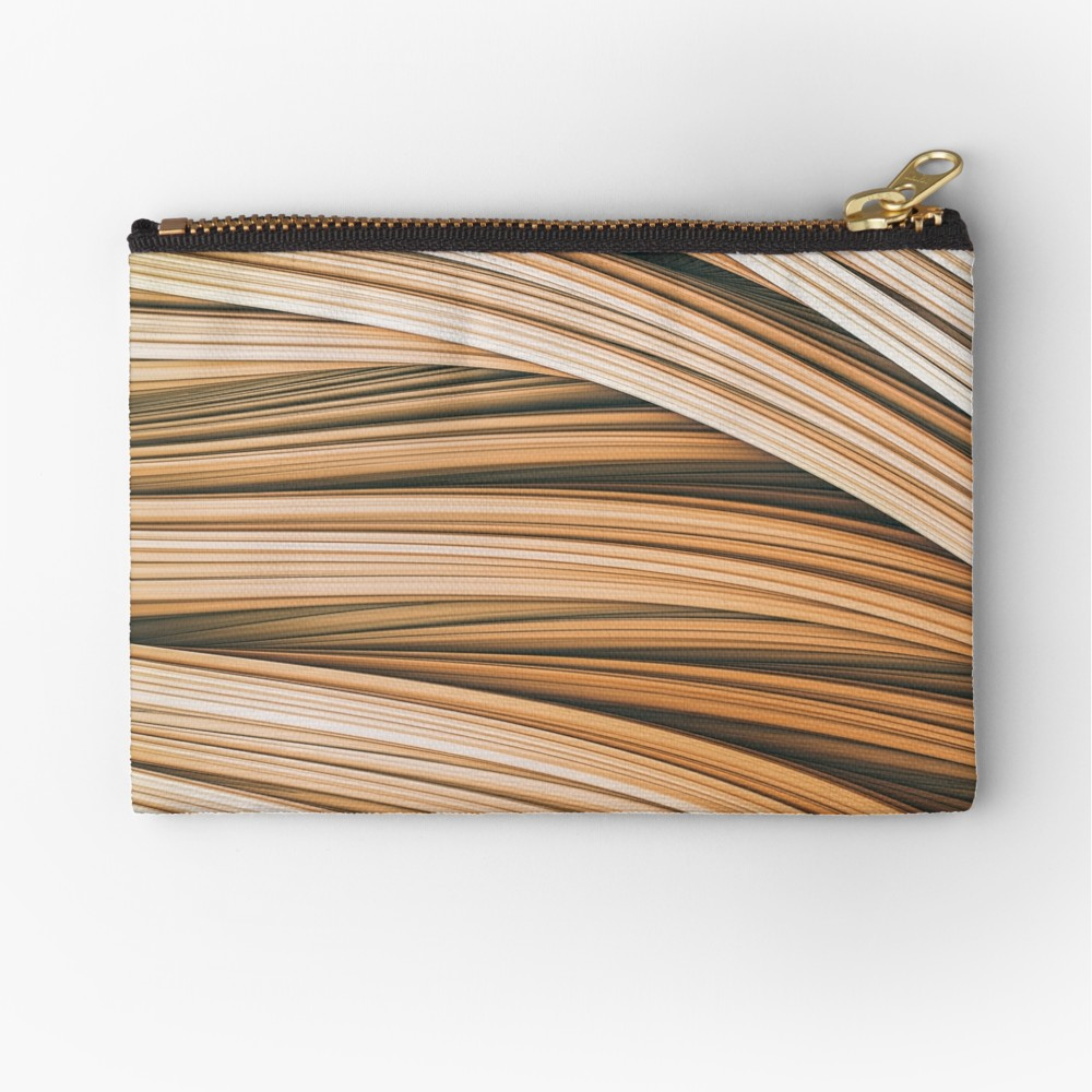 Beige Strands.  Zipper Pouch on Redbubble by lovefi