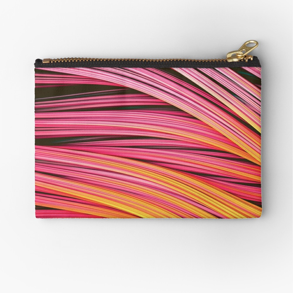 Pink & Heat Strands.  Zipper Pouch On Redbubble by lovefi