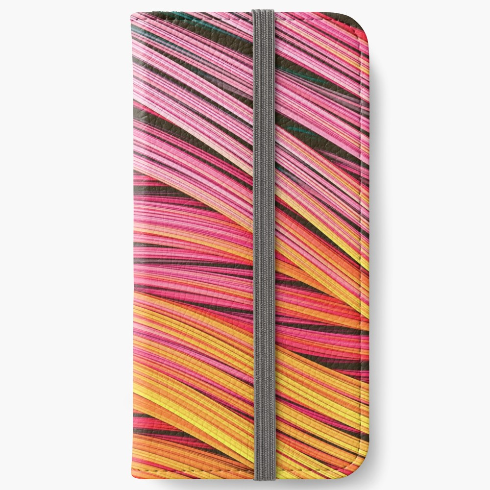 Pink & Heat Strands.  Phone Wallet On Redbubble by lovefi