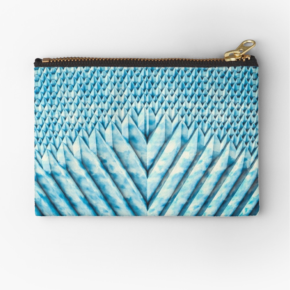 Blue Marble Sun Shards. Zipper Pouch on Redbubble  by lovefi