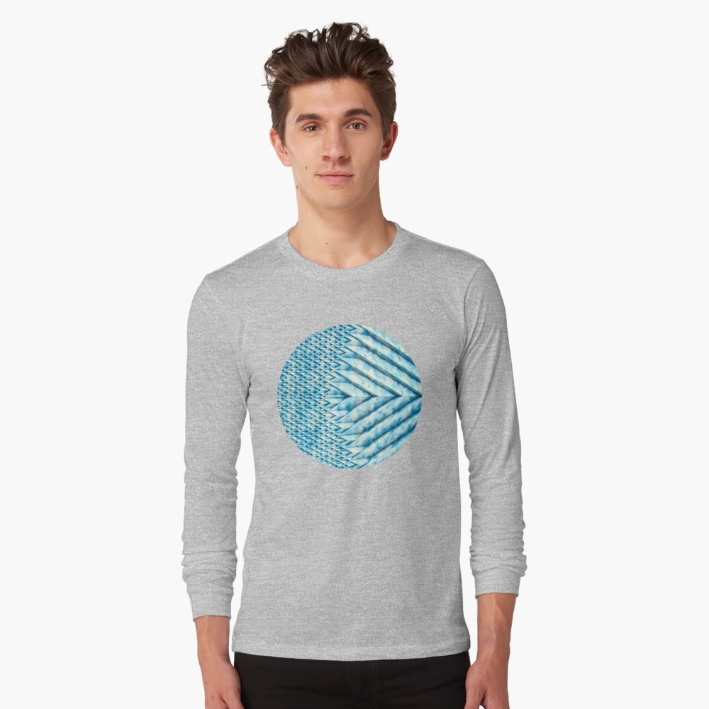 Blue Marble Sun Shards. Long Sleeves on Redbubble  by lovefi