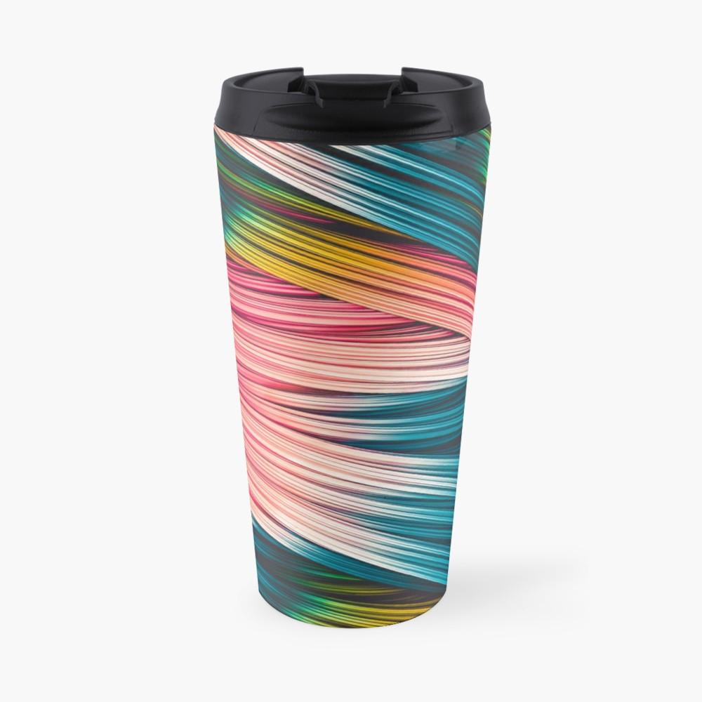 Bubble Gum Strand. Travel Mug On Redbubble  by love-fi