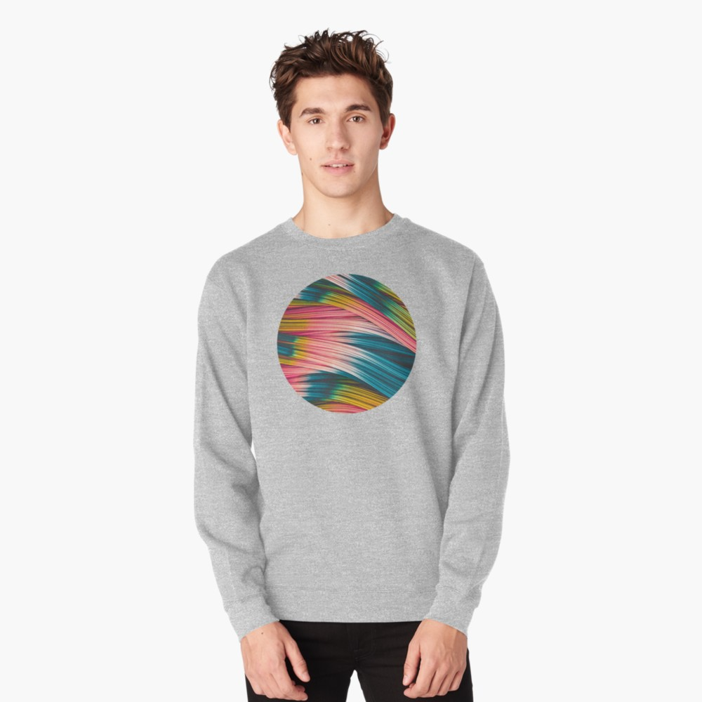 Bubble Gum Strand. Pull-Over Sweater On Redbubble by lovefi