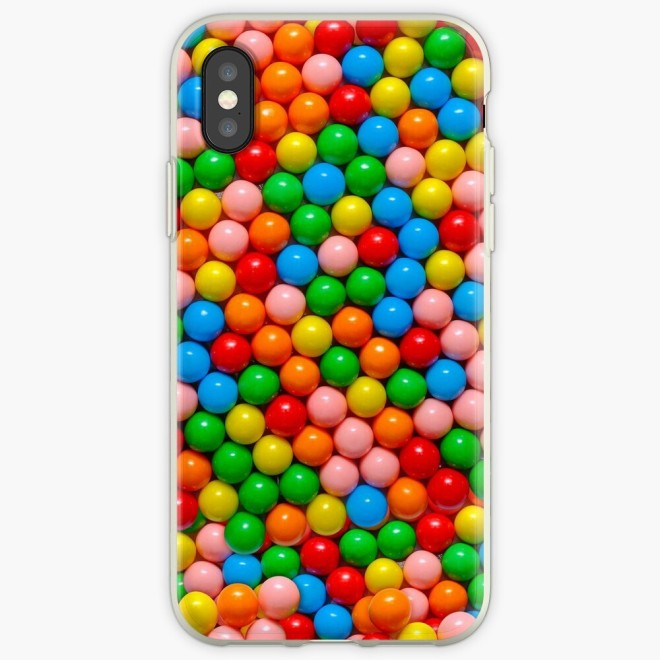 Mini Gumball Candy Photo Pattern Phone Case by Patterns Soup