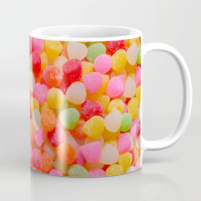 Gumdrop Candy Pattern Coffee Mug by PatternsSoup