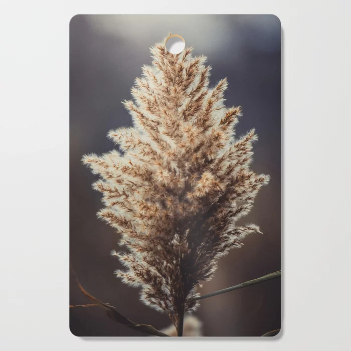 Phragmites Photograph Cutting Board by lovefi