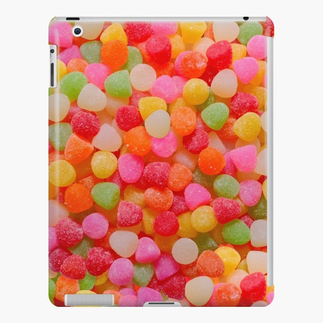 Gumdrop Candy Photo Pattern iPad Cases  by Patterns Soup