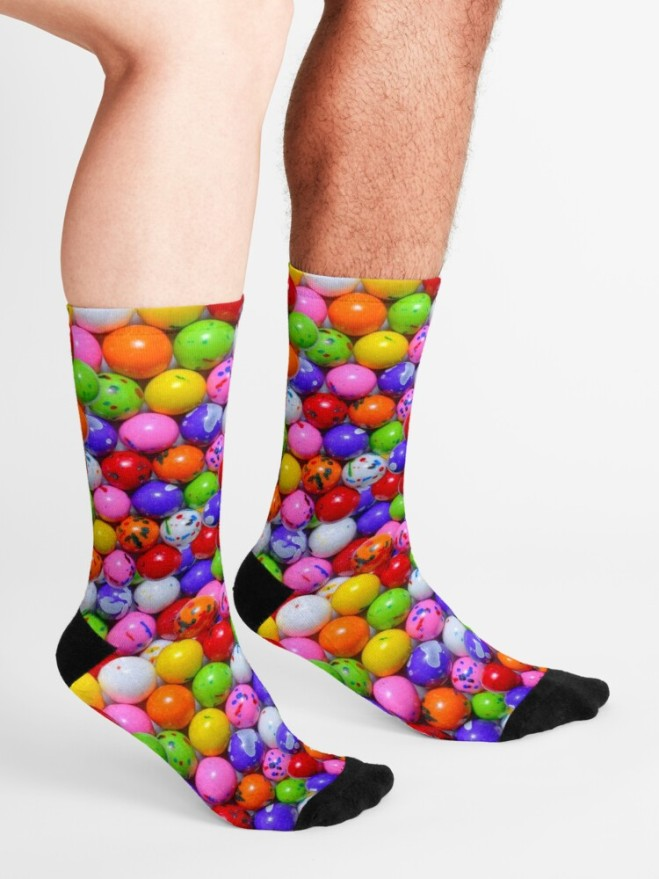 Jawbreaker Real Candy Pattern Socks By Patterns Soup