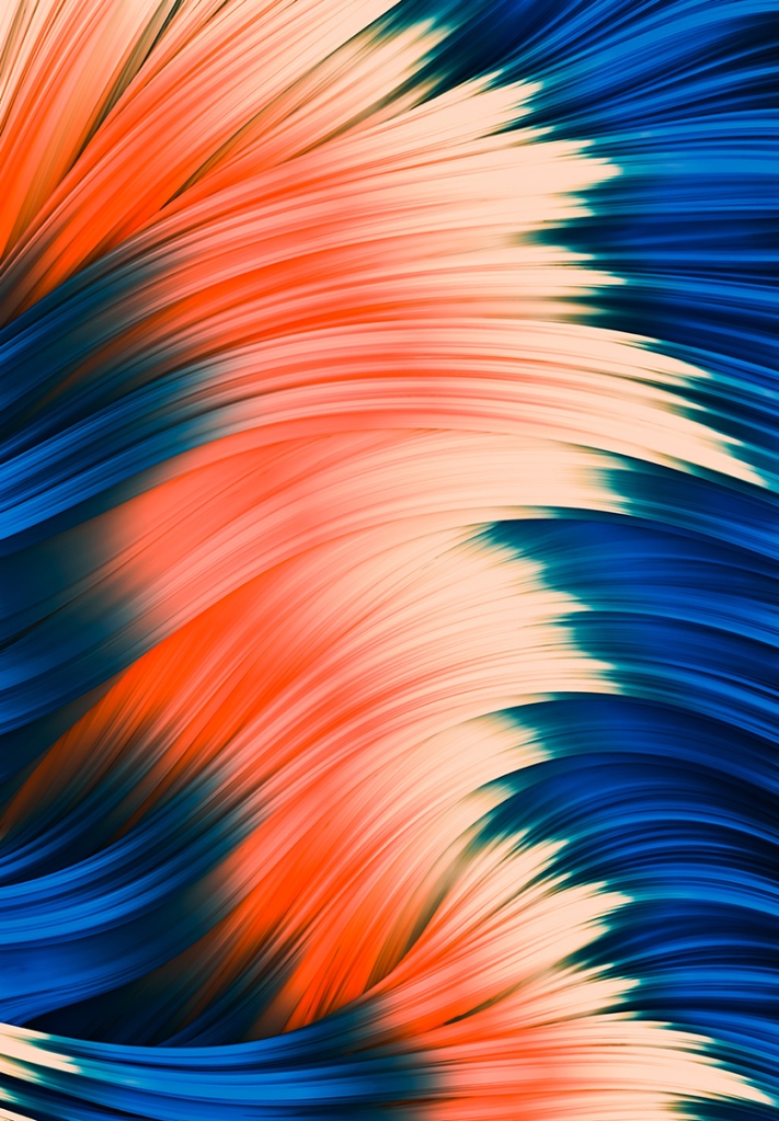 Flow Strand. Wind & Fire. Abstract Strands