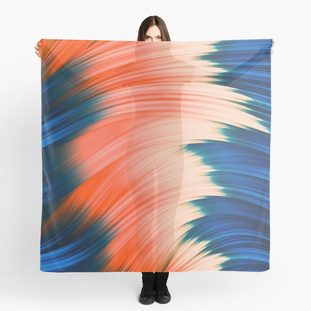 Flow Strand. Wind & Fire. Abstract Strands. Scarf By Love-fi, Stephen Geisel