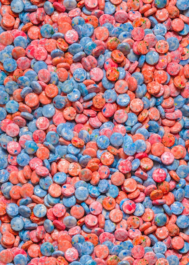 Assorted Bubblegum Chews Real Candy Pattern By Patterns Soup