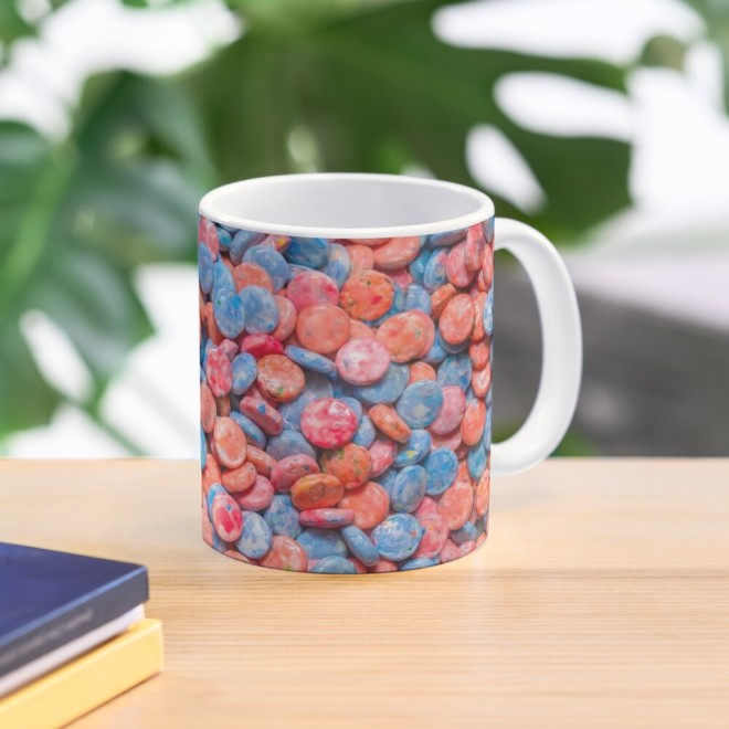 Assorted Bubblegum Chews Real Candy Pattern Mug By Patterns Soup