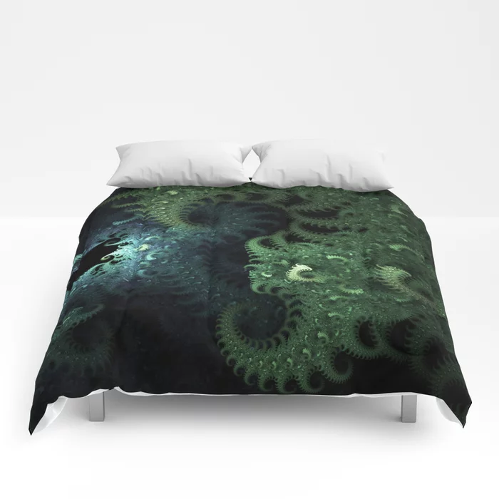 Mili Fiber. Abstract Design Comforters by lovefi