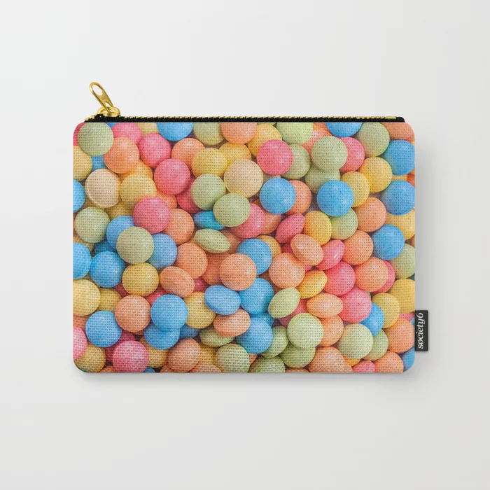 Sweet And Sour Candy Tarts Pattern Zipper Pouch Patterns Soup