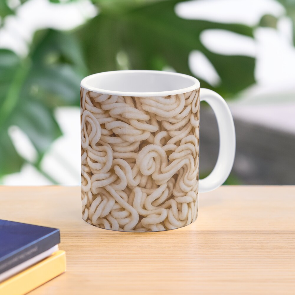 Instant Ramen Photo Pattern Mug. By Stephen Geisel, Patterns Soup