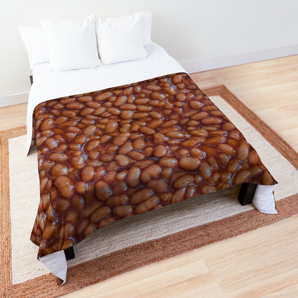 Baked Beans Pattern Blanket. By Stephen Geisel, Patterns Soup