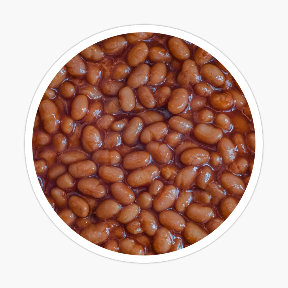 Baked Beans Pattern Sticker. By Stephen Geisel, Patterns Soup