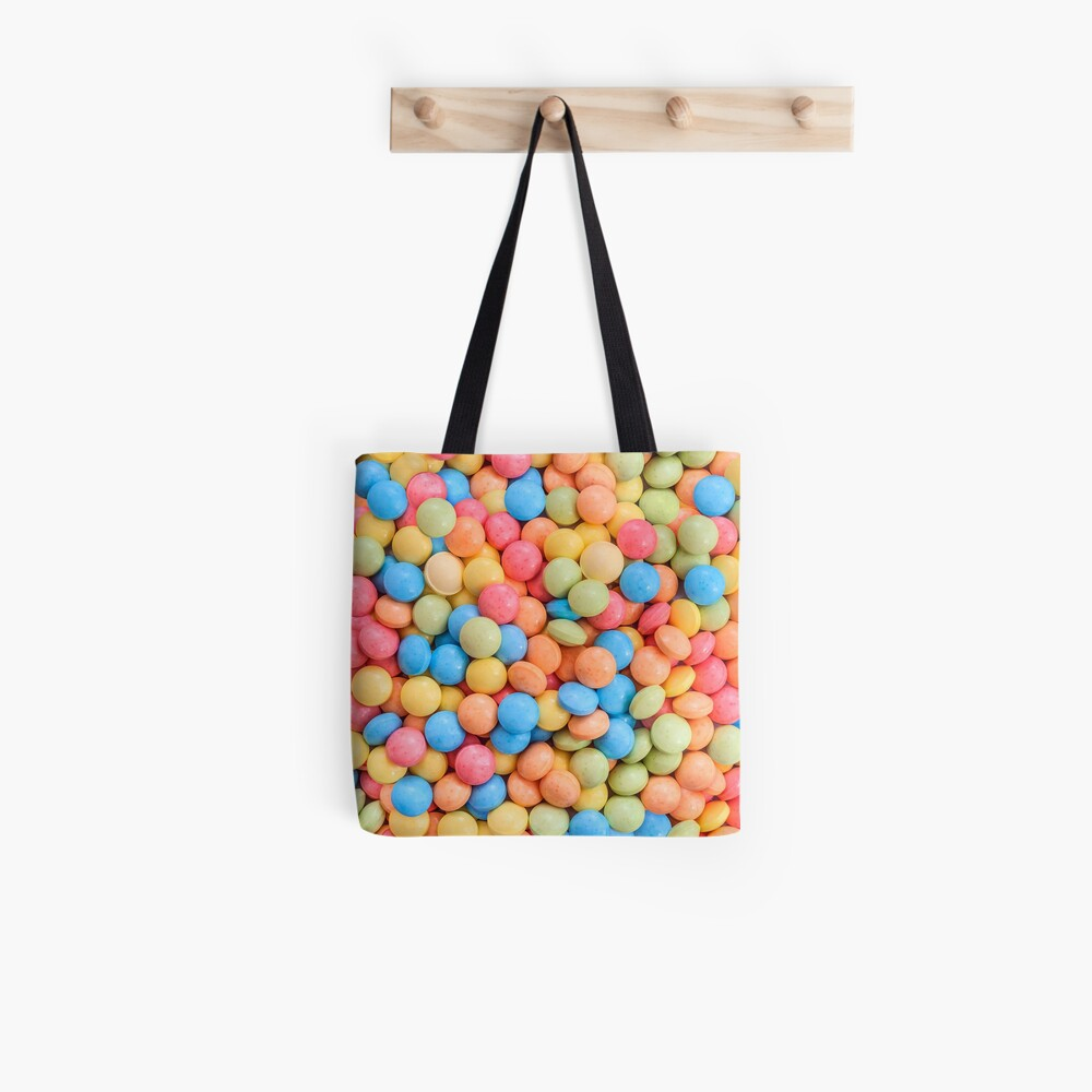 Sweet And Sour Candy Tarts Pattern Tote Bag Patterns Soup