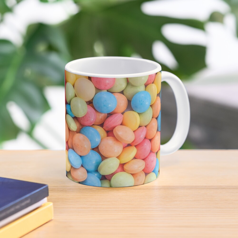 Sweet And Sour Candy Tarts Pattern Mug. Patterns Soup