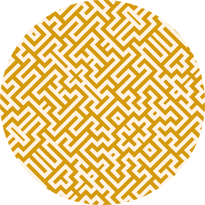 Magic Maze Gold Pattern By Stephen Geisel, Patterns Soup