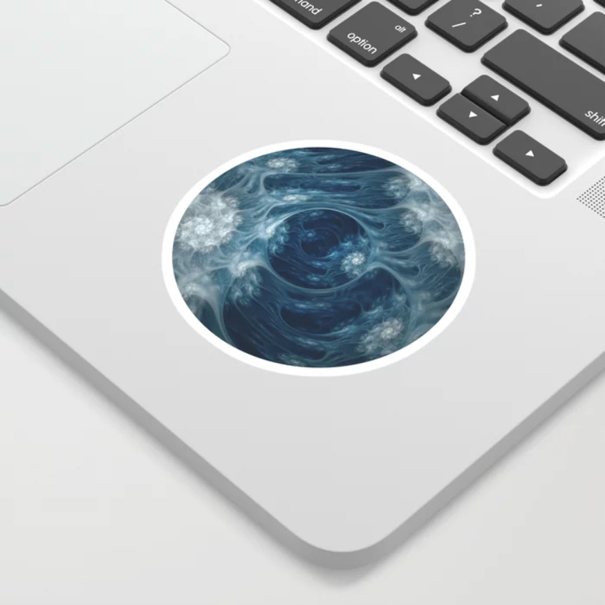 Frozen Underground Sticker. on Society6
