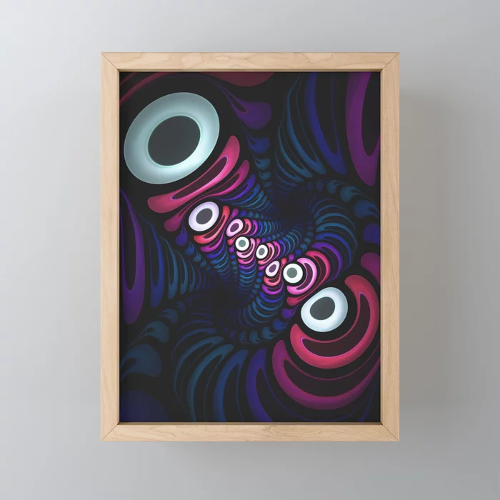 Octo-Pie. Mini Art Print On Society6