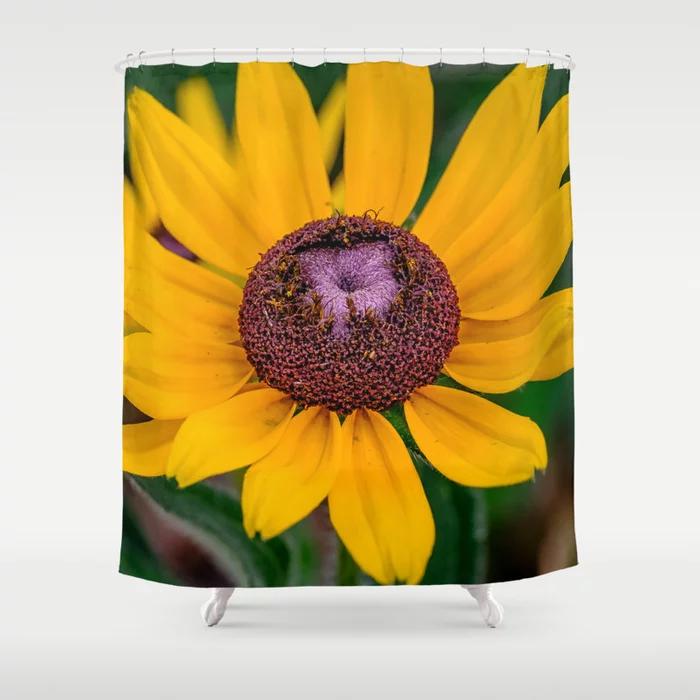 Rudbeckia Hirta, Shower Curtain. On Society6
